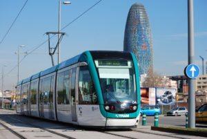 Трамвай Барселона
