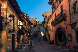 Испанская деревня Барселона