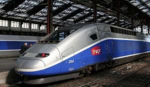 Поезд Барселона Париж
