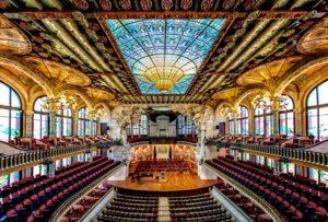Дворец Каталонской Музыки (El Palau de la Música Catalana)