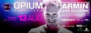 Armin van Buuren в Опиум Мар Барселона