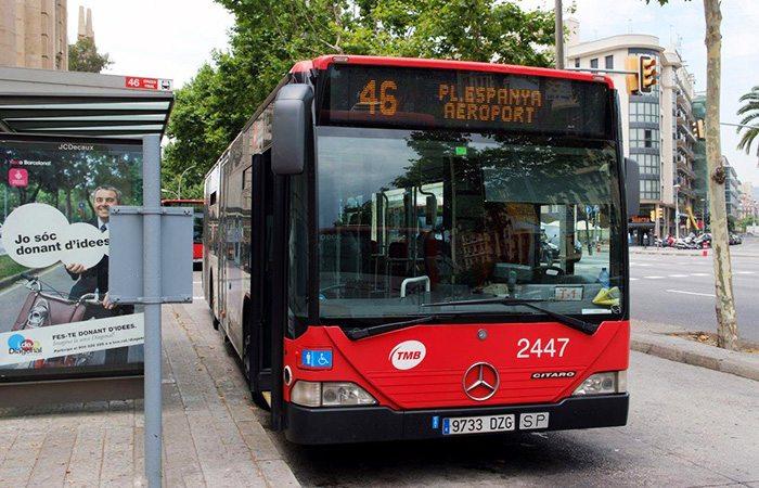Как доехать из аэропорта Барселоны до центра на автобусе