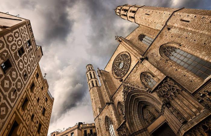 Барселона: достопримечательности с фото и описанием: собор Santa Maria del Mar