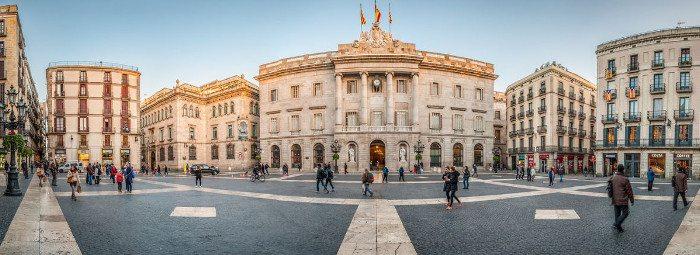 Площадь Sant Jaume
