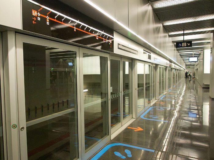 Самый долгий вариант - метро в аэропорту Барселоны