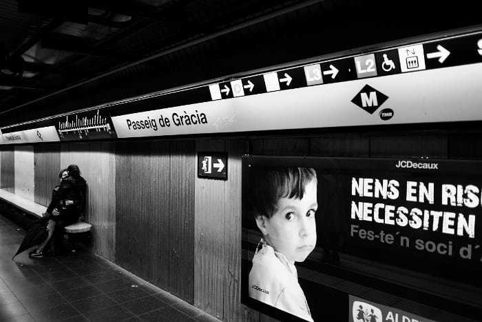 Цены в метро Барселоны