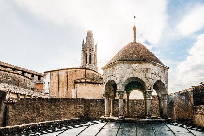 Арабские бани в городе Жирона