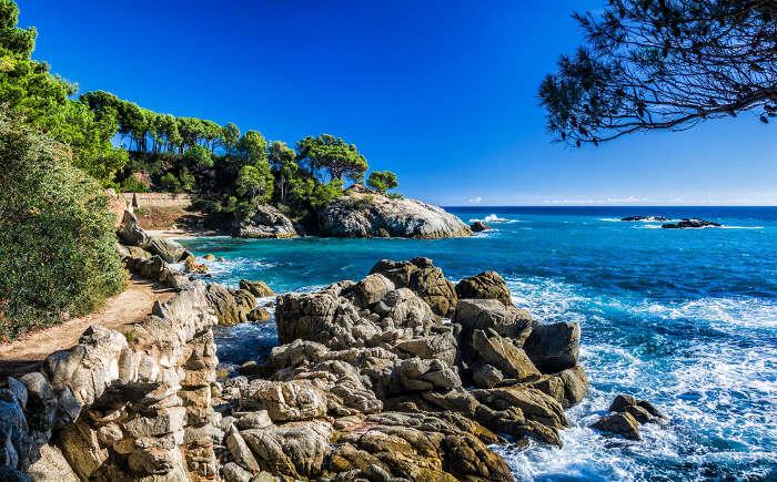 Платжа-д´Аро — кристальные пляжи