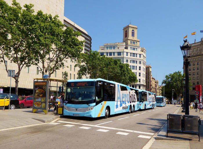 Аэробус - Как доехать из аэропорта Барселоны до центра