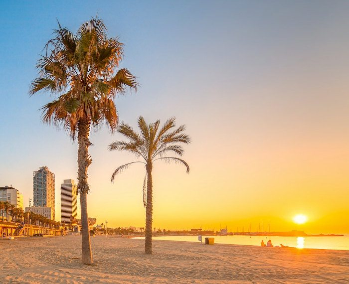 Пляжная линия Барселоны