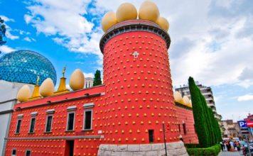 Театр музей Сальвадора Дали в Фигерасе (Барселона)