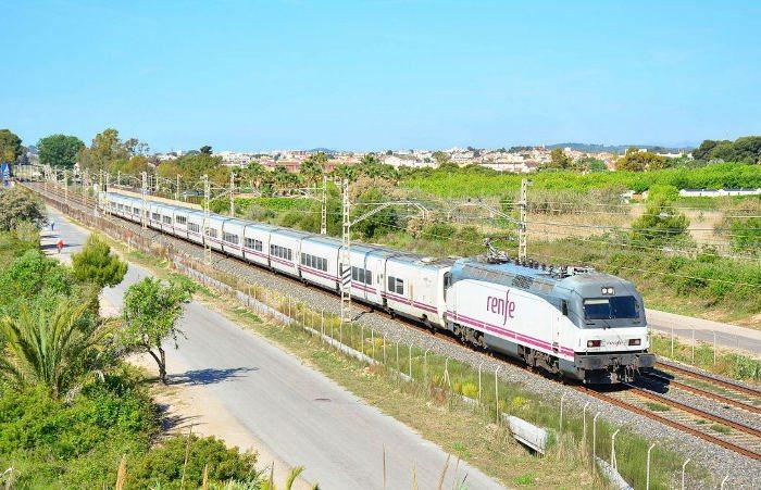 Поезд в Барселону