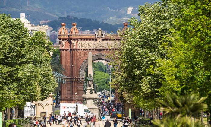 Парк Цитадели, Триумфальная арка